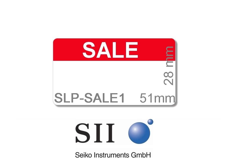 """28 x 51 mm / SLP-MRL mi Vordruck """"SALE"""" - SLP-SALE1"""