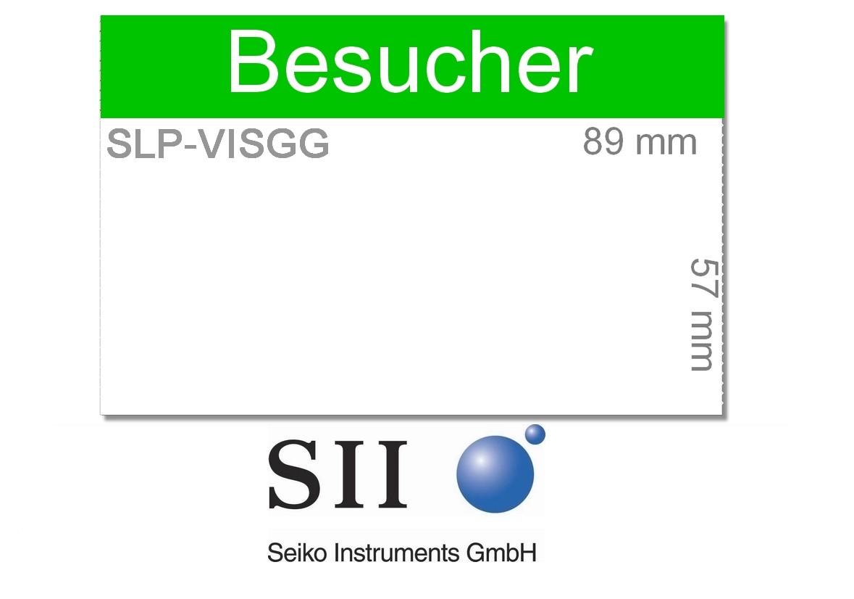 Seiko SLP-VISGG  -BESUCHER-  57 x 89 mm