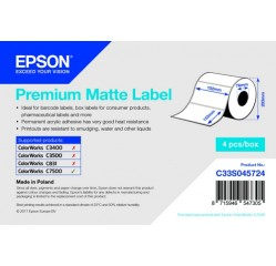 102 x 152 mm Inkjet-Etiketten, Papier, matt