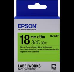 Epson Etik. flouresz. 18mm/ 9m