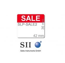 """36 x 42 mm / SLP-STAMP1 mit Vordruck """"SALE"""" - SLP-SALE2"""