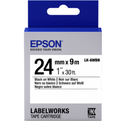 Standard Etiketten 24mm / 9m