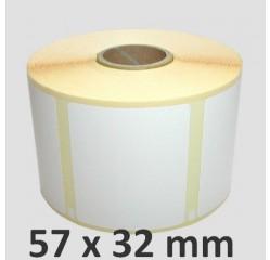57 x 32 mm Thermotransfer Etiketten