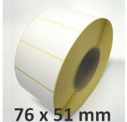 76 x 51 mm Thermodirekt Etiketten