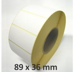 89 x 36 mm Thermodirekt Etiketten