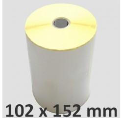 102 x 152 mm Thermodirekt Etiketten
