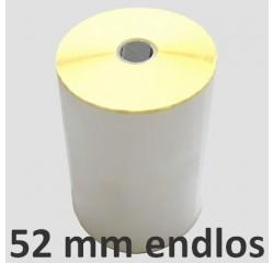 52 mm Thermodirekt Endlosetiketten