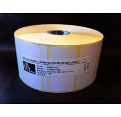 51 x 25 mm Papieretiketten Transfer