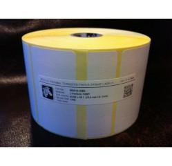 70 x 38 mm Papieretiketten Transfer