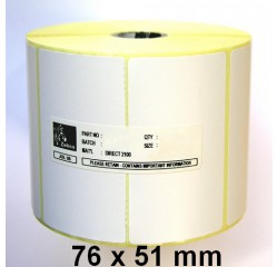 76 x 51 mm Thermotransfer Etiketten