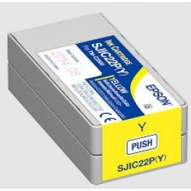 Epson Tintenpatrone yellow für Colorworks C3500 / SJIC22P(Y)