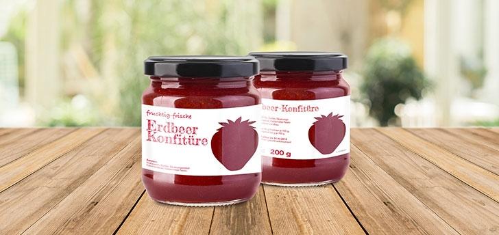 Etiketten für Marmelade, Honig, Bier oder Kaffee